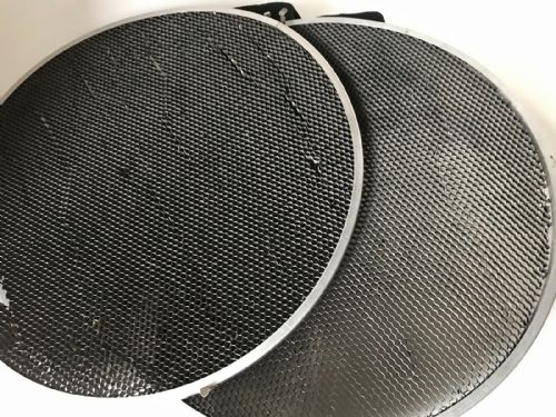 "PAIR OF BRONCOLOR 20"" GRIDS FOR BEAUTY DISH REFLECTOR"
